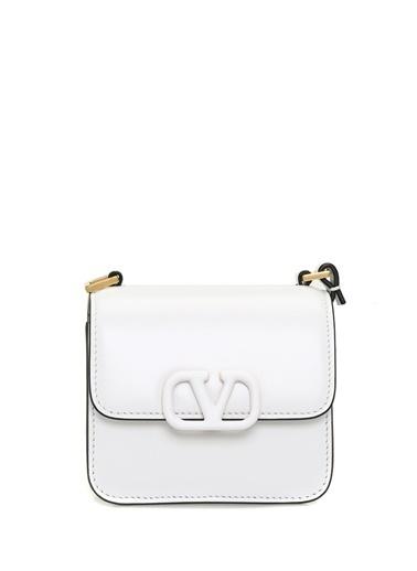 Valentino Garavani Omuz Çantası Beyaz